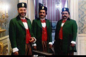 امین تارخ، اکبر عبدی و حمید جبلی در دلشدگان