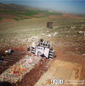 مزار عارف لرستانی روستای سیمینه