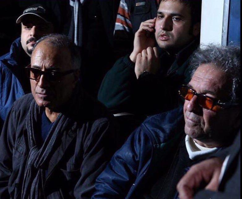 داریوش مهرجویی و عباس کیارستمی