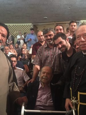 علی نصیریان شهاب حسینی محمدعلی کشاورز