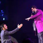 محمد زندوکیلی در کنسرت امید حاجیلی