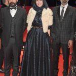 حسن معجونی لیلا حاتمی مانی حقیقی در فرش قرمز فستیوال برلین