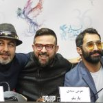 هادی کاظمی هومن سیدی و رضا عطاران