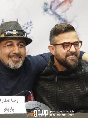 هومن سیدی و رضا عطاران