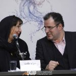 منیژه حکمت و محمود گبرلو در نشست جاده قدیم