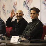 ساعد سهیلی و هادی حجازی فر در نشست فیلم لاتاری