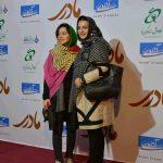 الهام پاوه نژاد و نازنین بیاتی در اکران مادری