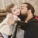 رضا صادقی و دخترش ویانا