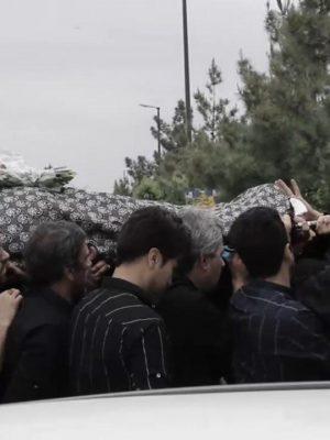 تدفین مادر علی عبدالمالکی