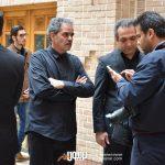 بابک صحرایی و محمدولی احمدلو در مراسم سوم ناصر چشم آذر