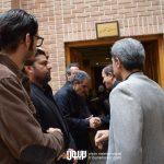 شاهد احمدلو در مراسم سوم ناصر چشم آذر