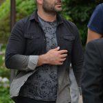کیان مقدم در مراسم سوم ناصر چشم آذر