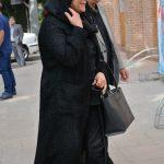 تهمینه میلانی و محمد نیک بین در مراسم سوم ناصر چشم آذر