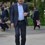 فریبرز لاچینی در مراسم سوم ناصر چشم آذر