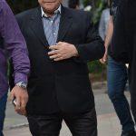عباس قادری در مراسم سوم ناصر چشم آذر