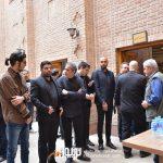 بابک صحرایی حامی محمدولی احمدلو شاهد احمدلو در در مراسم سوم ناصر چشم آذر