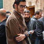 شهاب احمدلو در مراسم سوم ناصر چشم آذر