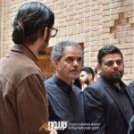 شاهد احمدلو و محمدولی احمدلو در مراسم سوم ناصر چشم آذر