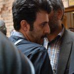 هومن حاجی عبداللهی در مراسم سوم ناصر چشم آذر