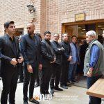 بابک صحرایی حامی محمدولی احمدلو شاهد احمدلو رسول ترابی در مراسم سوم ناصر چشم آذر