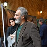 جهانگیر الماسی در مراسم سوم ناصر چشم آذر