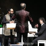 رضا تاجبخش و روزبه نعمت اللهی در کنسرت عاشقانه های پاپ