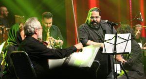 رضا صادقی در کنسرت عاشقانه های پاپ