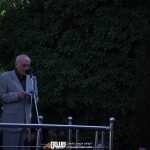 محمد سریر در مراسم تشییع ناصر چشم آذر