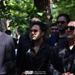 گروه سون در مراسم تشییع ناصر چشم آذر
