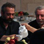بهمن مفید بابک صحرایی در چهلم ناصر چشم آذر