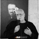 هوشنگ گلمکانی در چهلم ناصر چشم آذر