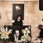 حامی رضا تاجبخش بهزاد رواقی در چهلم ناصر چشم آذر