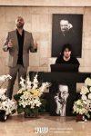 حامی بابک صحرایی رضا تاجبخش و بهزاد رواقی در چهلم ناصر چشم آذر