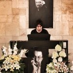 رضا تاجبخش در چهلم ناصر چشم آذر