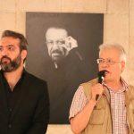 عباس یاری و بابک صحرایی در چهلم ناصر چشم آذر