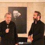 بهمن مفید و بابک صحرایی در چهلم ناصر چشم آذر