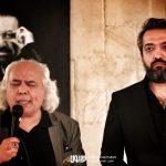 سیروس الوند و بابک صحرایی در چهلم ناصر چشم آذر