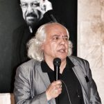 سیروس الوند در چهلم ناصر چشم آذر