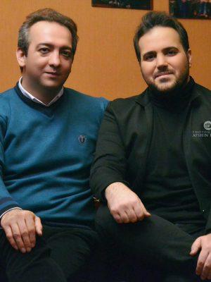 علی عبدالمالکی و بابک صحرایی
