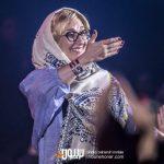 مرجانه گلچین در کنسرت حمید هیراد