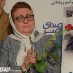 هنگامه اخوان مراسم رونمایی آلبوم ایوب صادقی