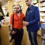 حامی و وحید مهراد در مراسم رونمایی آلبوم اهورا ایمان