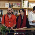 محید مهراد در مراسم رونمایی آلبوم اهورا ایمان