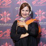 لیلی رشیدی در اکران مردمی عرق سرد