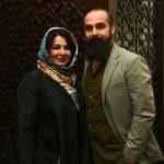 شهره سلطانی و همسرش بهروز پناهنده