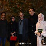 صبا راد، مانی رهنما، حمیدرضا صمدی و همسرش، سعید رضایی