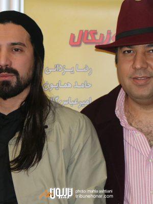 علی اوجی و امیرعباس گلاب