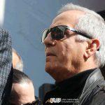 مجید مظفری در مراسم تشییع خشایار الوند