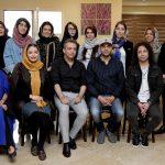 حامی سپیده خداوردی و والایار در کارگاه ترانه بابک صحرایی