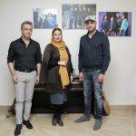 حامی و سپیده خداوردی در کارگاه ترانه بابک صحرایی